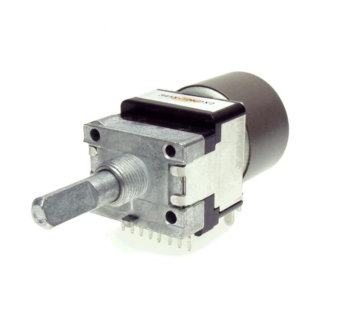 Alps Dual Motorized Potentiometer Rk16812mg Log Linear Ebay